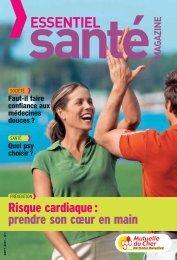Mutuelle du Cher - Essentiel Santé Magazine