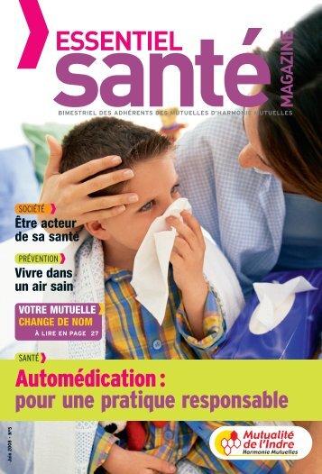 Mutualité de l'Indre - Essentiel Santé Magazine