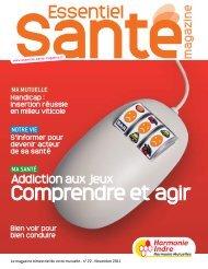 Harmonie Mutualité Indre - Essentiel Santé Magazine