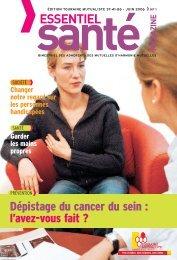 Touraine Mutualiste - Essentiel Santé Magazine