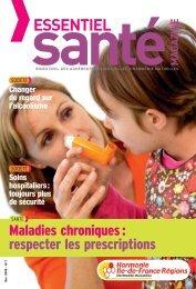 Harmonie Ile-de-France Régions - Essentiel Santé Magazine