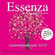 Valentijnskrant 2010 - Essenza