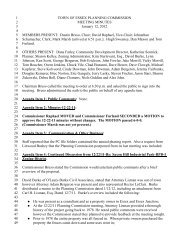 2012 Planning Commission Meeting Minutes - Town of Essex ...