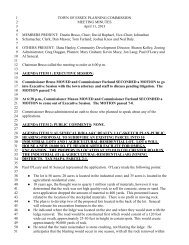 Planning Commission Minutes for April 11, 2013 - Town of Essex ...