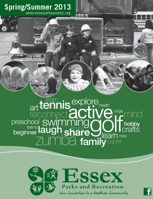 2013 Spring Summer Brochure - Town of Essex, Vermont