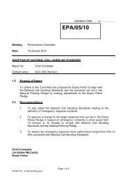 EPA/05/10 - Essex Police