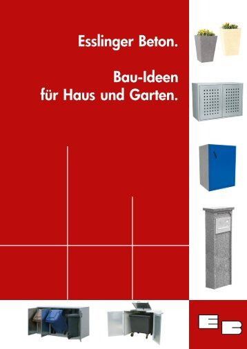 Gesamtkatalog 2013 - Esslinger Betonwerk GmbH
