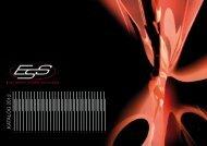 ESS Katalog 2012/13 als PDF (ca 2,9 MB!!) - Essound.de