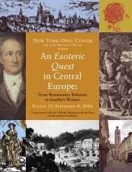 An Esoteric Quest in Central Europe, From Renaissance Bohemia to ...