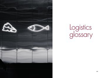 Logistics Glossary - Supply Chain Consulting