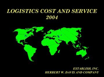 Logistics Cost and Service - Supply Chain Consulting