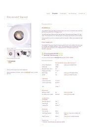 Orluna, LED downlight used by British Airways in ... - ES-team lighting