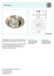 flip 52 15 semi recessed - ES-team lighting