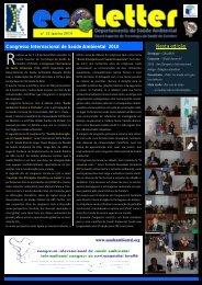 Congresso Internacional de Saúde Ambiental 2010 Nesta edição