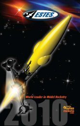Download 2010 Catalog - Estes Rockets
