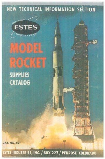 Download 1969 Catalog - Estes Rockets