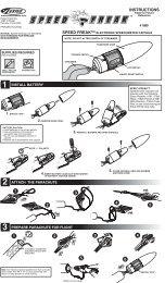 61008 Speed Freak Instructions - Estes Rockets