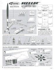 1432 - Sizzler - Estes Rockets