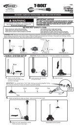air rocket launch set instructions 0 keep for future ... - Estes Rockets