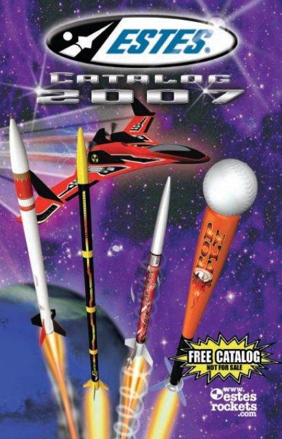 Skill Level 3 Estes Rockets Comanche-3 Model Rocket Kit