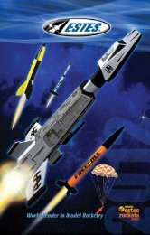 Download 2012 Catalog - Estes Rockets