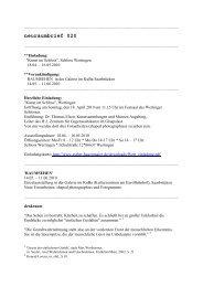 neuraumbrief 020 (PDF) - Esther Hagenmaier