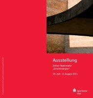 Ausstellung - Esther Hagenmaier