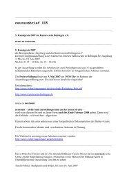 neuraumbrief 005 (PDF) - Esther Hagenmaier
