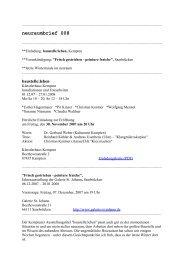 neuraumbrief 008 (PDF) - Esther Hagenmaier