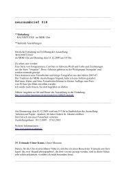 neuraumbrief 018 (PDF) - Esther Hagenmaier