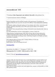 neuraumbrief 009 (PDF) - Esther Hagenmaier