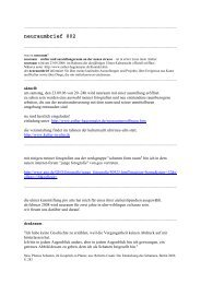 neuraumbrief 002 (PDF) - Esther Hagenmaier