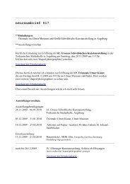 neuraumbrief 017 (PDF) - Esther Hagenmaier