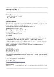 neuraumbrief 022 (PDF) - Esther Hagenmaier