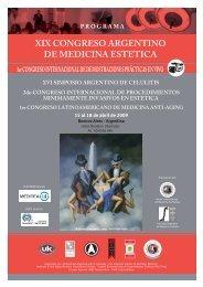 xix congreso argentino de medicina estetica - Estheticnet