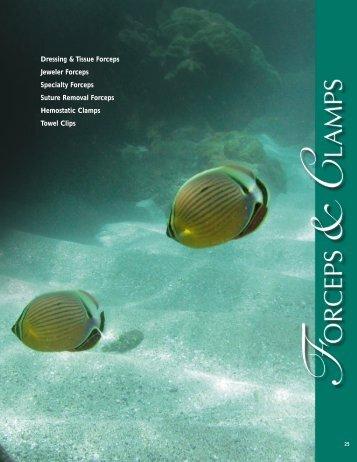 Dressing & Tissue Forceps Jeweler Forceps Specialty ... - Estheticnet