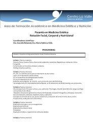 Pasantía en Medicina Estética Rotación Facial ... - Estheticnet