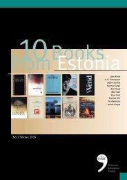 No 2 Spring 2009 - Estonian Literature
