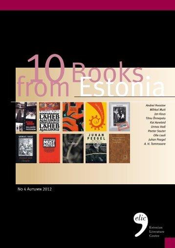 No 4 Autumn 2012 - Estonian Literature