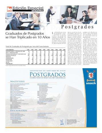 Graduados de Postgrados se Han Triplicado en 10 Años - Estrategia