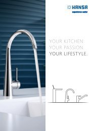 YOUR KITCHEN. YOUR PASSION. YOUR LIFESTYLE.