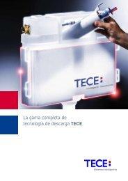 La gama completa de tecnología de descarga TECE
