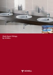 Wash Basin Fittings. By SCHELL.