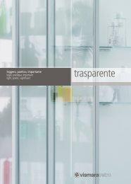 Vismaravetro Monografia trasparente - Vismaravetro Srl