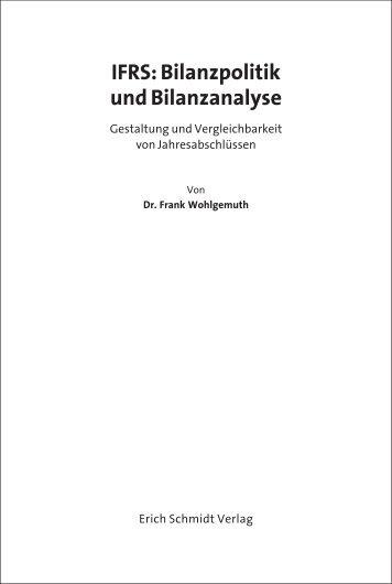 IFRS: Bilanzpolitik und Bilanzanalyse - Buchhandel.de