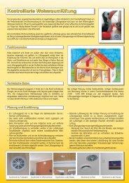 Kontrollierte Wohnraumlüftung Kontrollierte Wohnraumlüftung - OÖ ...