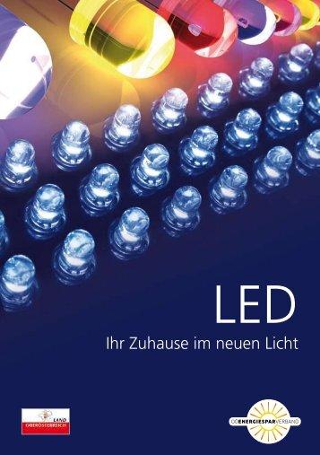 """Broschüre """"LED - Ihr Zuhause im neuen Licht"""" - Richtig hell"""