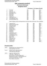 Rangliste Lt.runde 10 - Emmentalischer Schützenverband