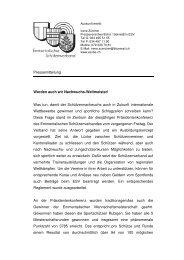 Presse PK - Emmentalischer Schützenverband