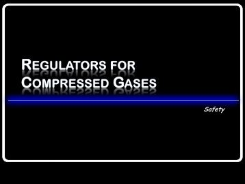 Compressed Gas Regulators